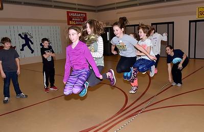 Jump For Heart Practice photos by Gary Baker
