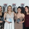 Women's soccer award winners
