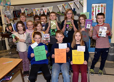 Mrs Casey's 3-Peat Book-It Readers photos by Gary Baker