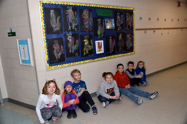 Ms Leard's Young Picassos photos by Gary Baker