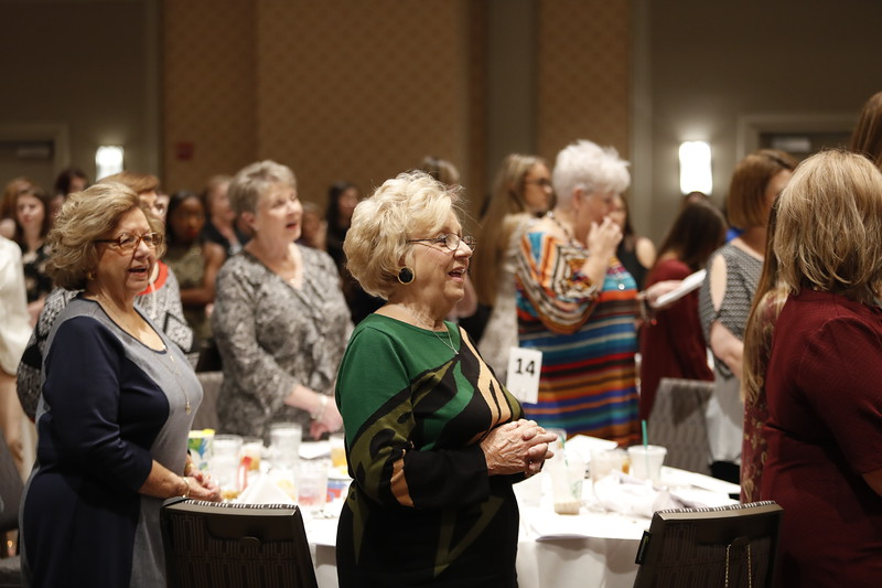 Cabrini Mother Daughter Mass, Luncheon and Fashion Show. <br /> 11.18.17<br /> Photo: Tyler Kaufman/©2017