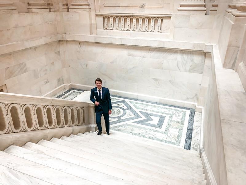 The US Senate Building