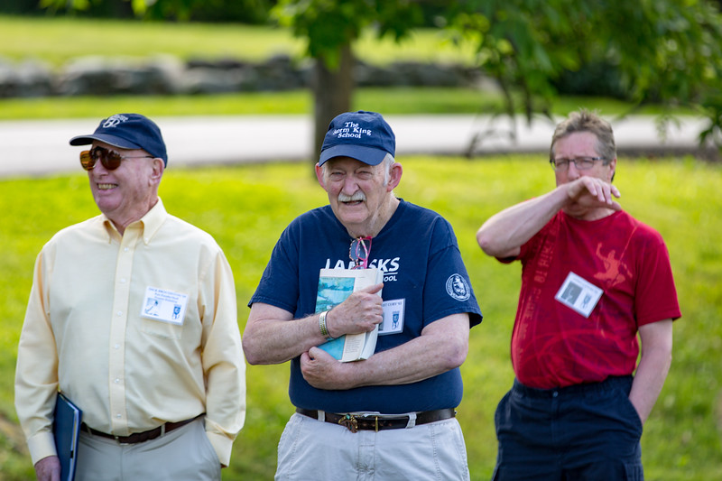 Dick Broughton '54, Bob Cory '63 & Chris Capers '74
