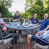 David Hartcorn '73, Doug Burg '71, Scott Rutter '73, Chris Capers '74, Scott Cantor '73, Phil Cunningham '72
