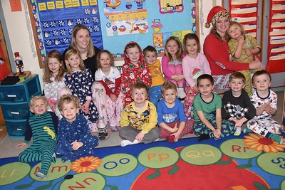 Pre-K Pajama Fun photos by Gary Baker