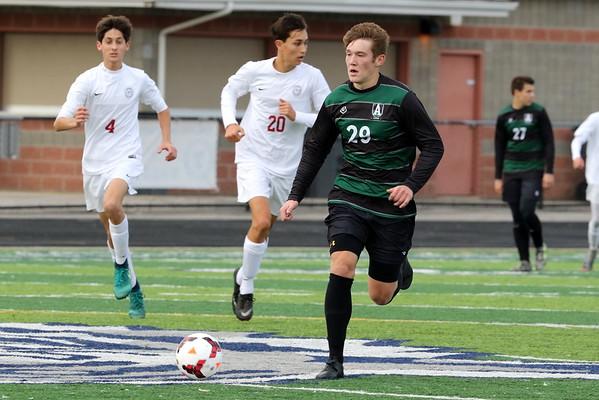 Regional Soccer Final - Hawken v Aurora 1st Half