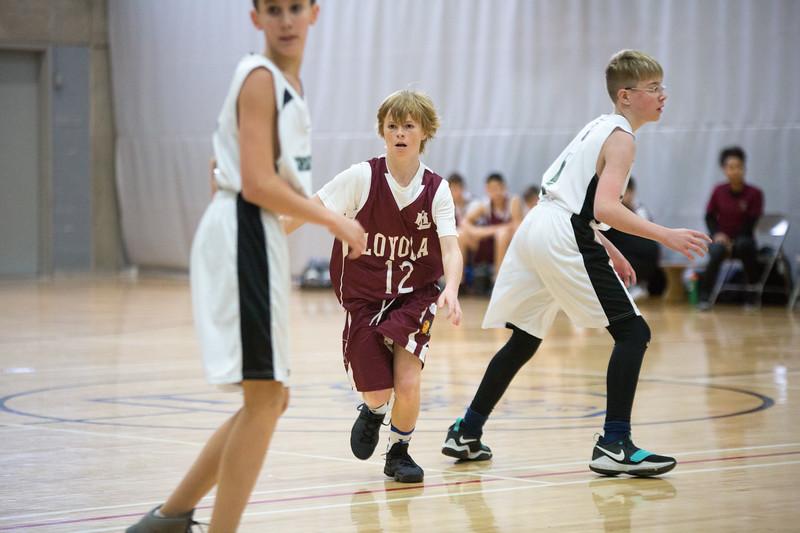 2017-18 Bantam Basketball Div 1