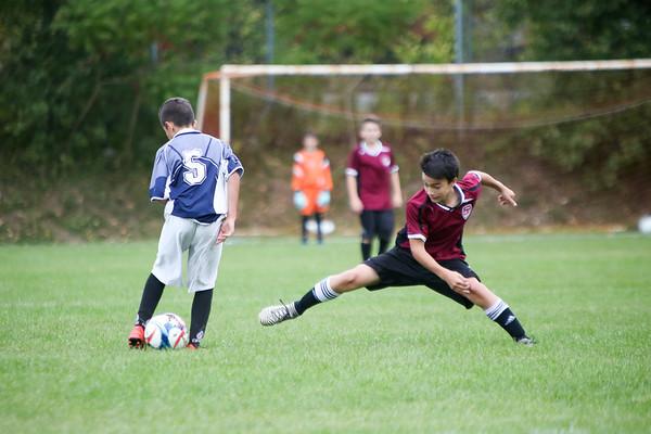 2017-10-04 Bantam Div 2 Soccer vs Royal West
