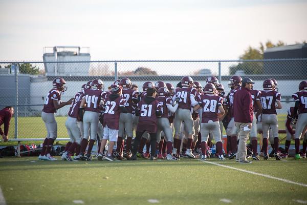 2017-10-27 Cadet Football