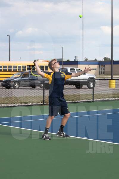 Boys Tennis vs. Ionia 8-30-17