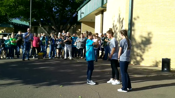 State Send Off Cross Country