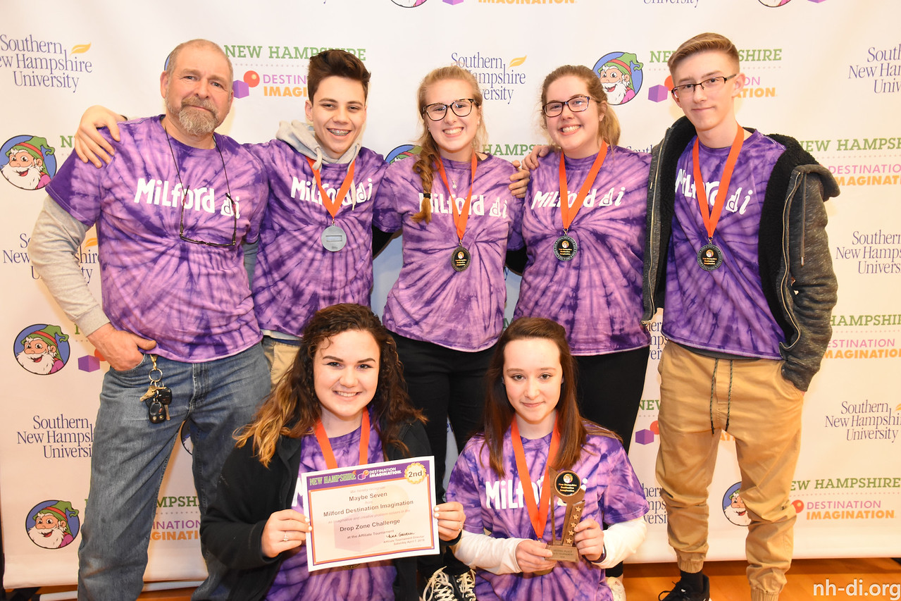 Milford Destination Imagination - Maybe Seven - Secondary Level - Milford - 130-41406 - Engineering Challenge: Drop Zone