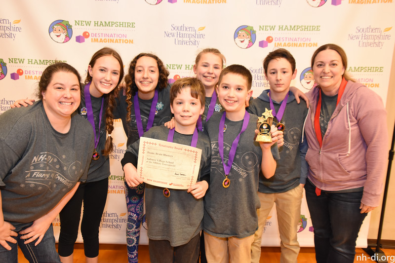 Renaissance Awards -Auburn Village School - Brain Blasters - Middle Level - Auburn - 130-22998 - Scientific Challenge: Unlikely Attraction