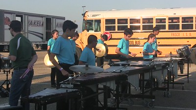 2017.09.23 Jasper Drumline Warmups 7