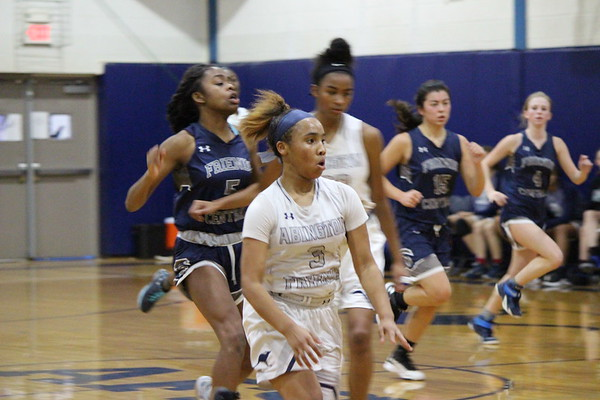 Varsity Girls' Basketball Win Over Friends Central