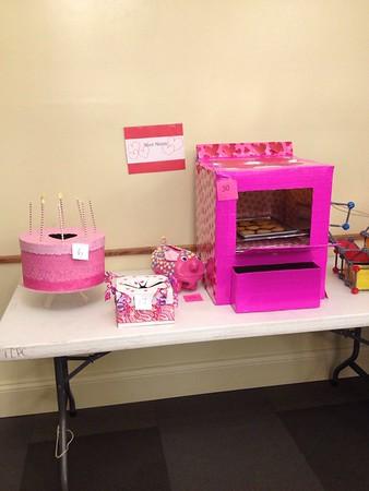 Valentine's boxes 6th grade