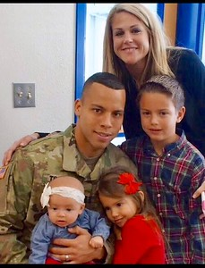 Joseph Travis, U.S. Army captain, son-in-law to Deborah Eubank. Joseph is a 2004 graduate of Leander High School.