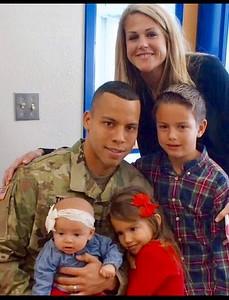 Joseph Travis, U.S. Army captain, son-in-law to Deborah Eubank. Joseph is a 2004 graduate of Leander High School.