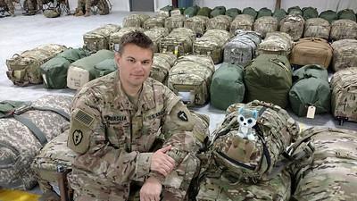 Matthew Zavaglia, U.S. Army major, spouse to Jennifer Zavaglia. Matthew just returned from Afghanistan on Nov. 3. His son, Maddox Zavaglia, attends PreK at Bagdad Elementary.
