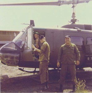 (Right) Danny Mason, U.S. Army CWO and pilot, father to Jannine Farnum, grandfather to Cameron Farnum.