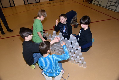 We Can Stack 100 Cups photos by Gary Baker