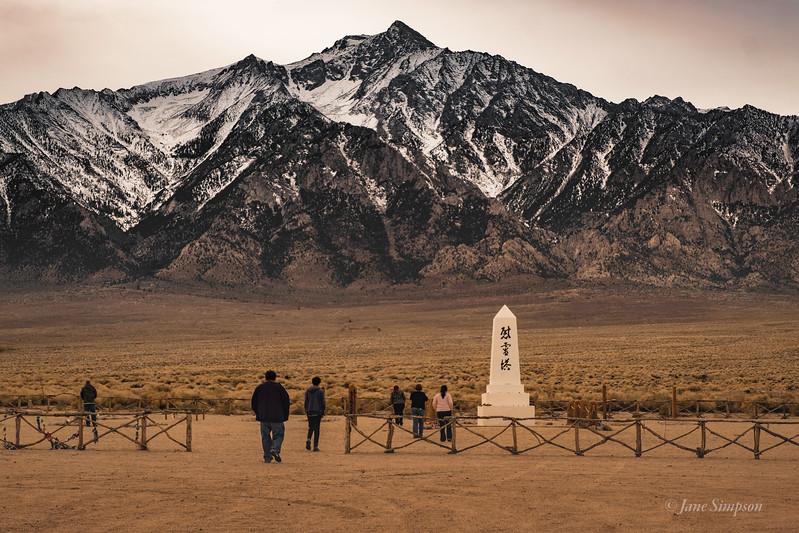The Monument below Williamson