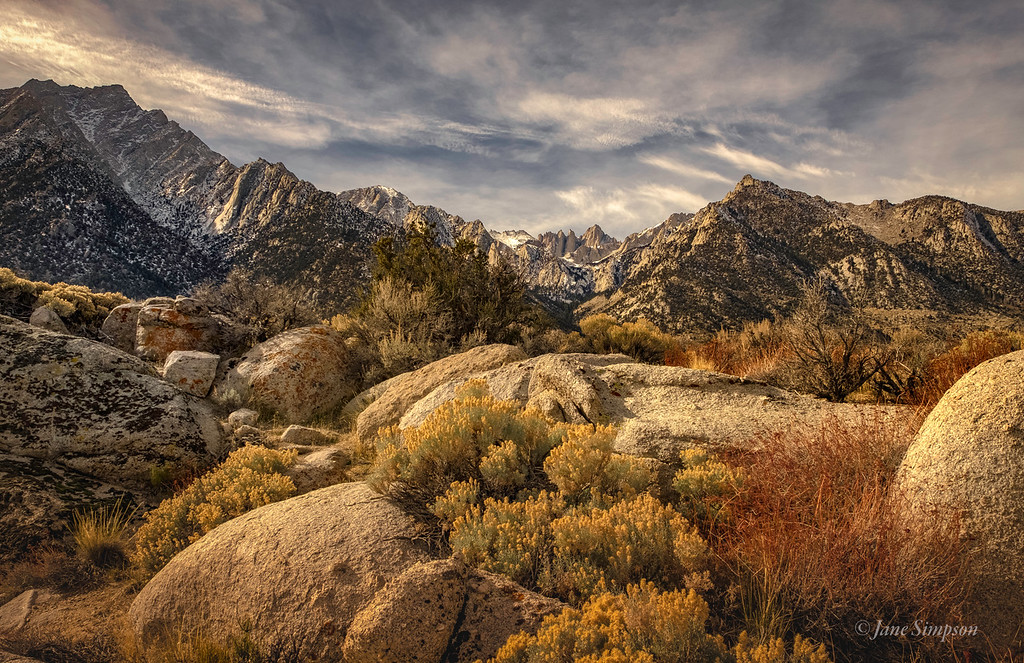 From Whitney Portal Road