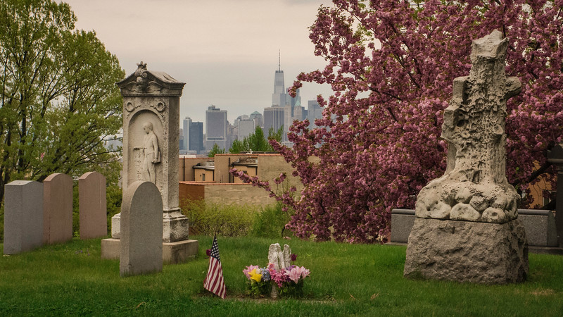 Greenwood Cemetery, Early May 2018