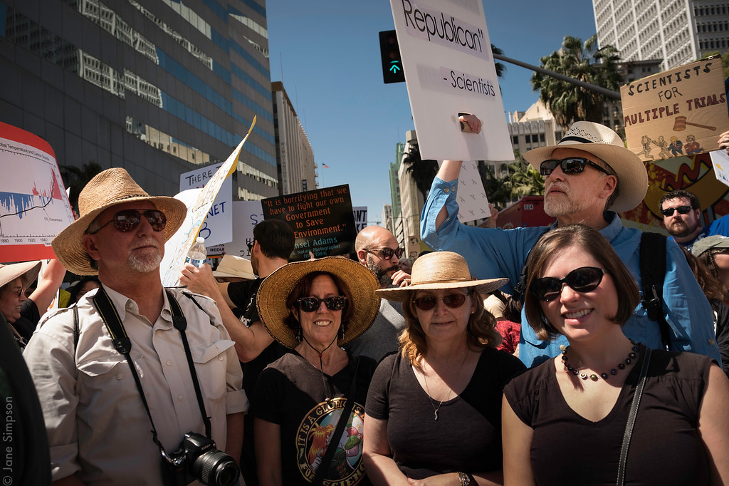 Friends marching for Science!