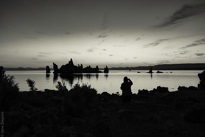 Mono Lake, Dawn July 2017