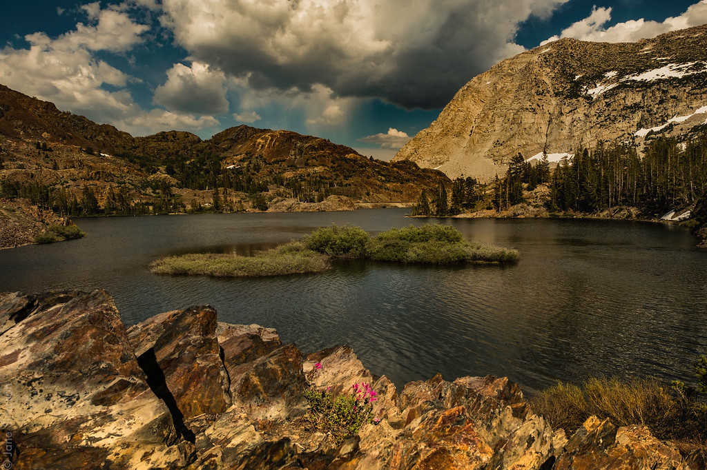 Ellery Lake, Tioga Road, July 13-14, 2017