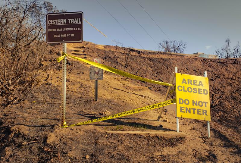 Cistern Trailhead, Malibu Creek State Park, Dec 4 2018