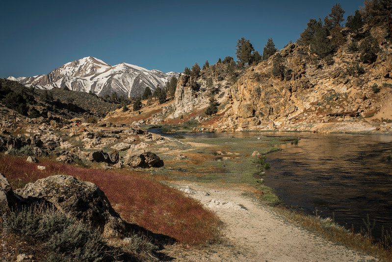 Hot Creek Geological Site, May