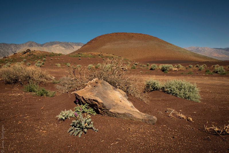 At Fossil Falls - That Cute Red Cinder Cone