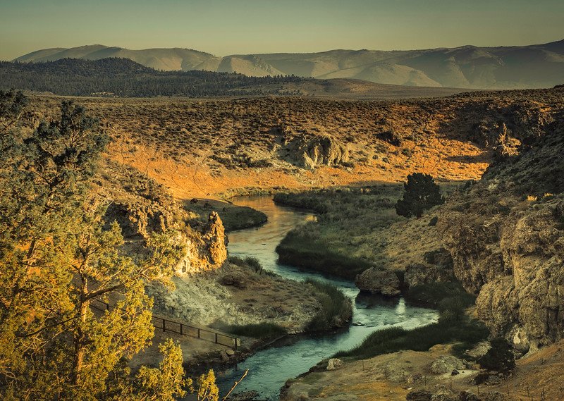 Hot Creek, August