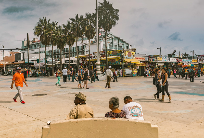 Venice Beach Looks Like Another Country