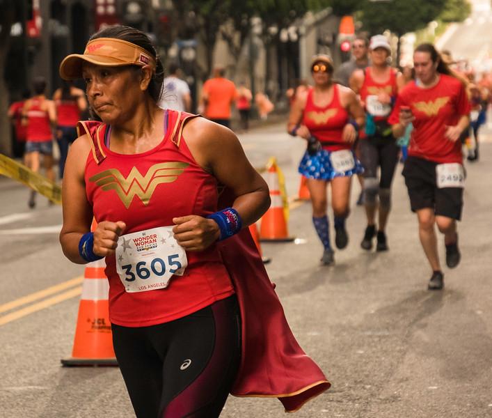 Wonder Woman Race November 2018