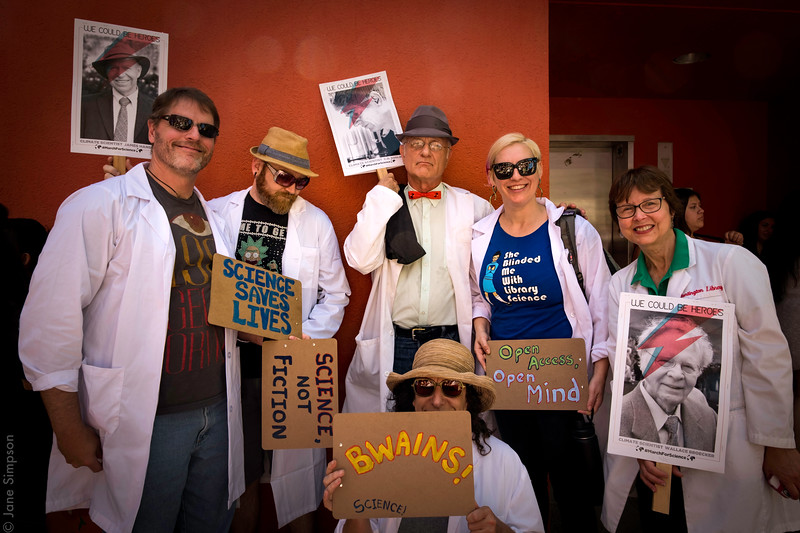 Scientists March for Science