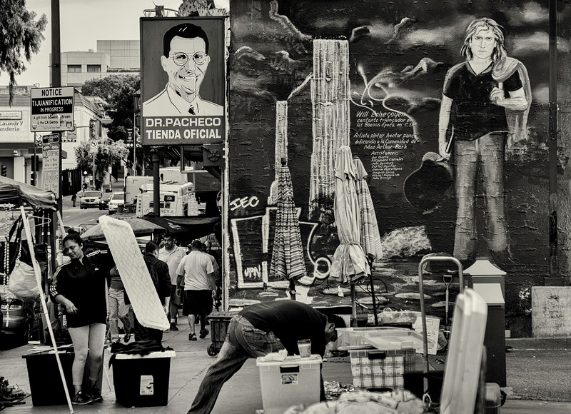 Hector Ponce's Mural of Will Echegoyen