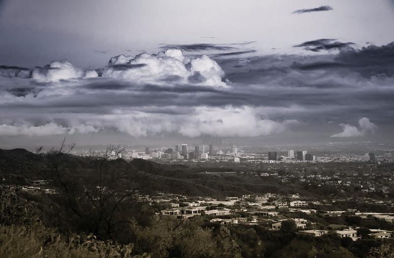 January Storm Cloud Over DTLA