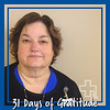 """I am grateful for the sense of belonging that I have always had at Rutland Regional Medical Center. From the time I first walked through these doors I knew this was my home. Why? Because of the people, our work family. The care and compassion that is demonstrated here daily truly astounds me. My heart holds a tremendous amount of gratitude."" – Carol Egan, Chief Nursing Officer"