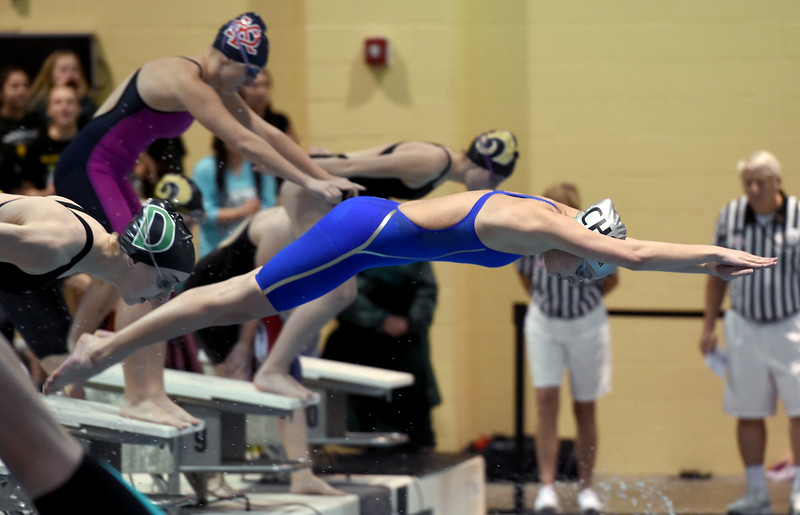 3A State Championship Swimming