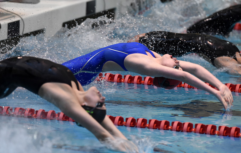 5A State Championship Swimming
