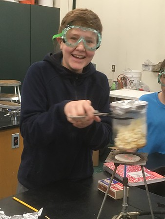 Making Popcorn in the Science Lab
