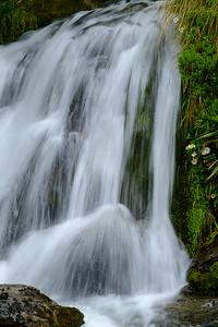 Plenty of small waterfalls line the hiking trail