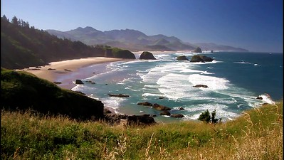 5-Cannon Beach and Haystack from Ecola Park