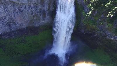 Enjoying Salt Creek  from above
