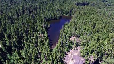 Salt Creek Falls and its companion-Too Much Bear Lake