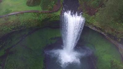 Hovering at South Falls-4