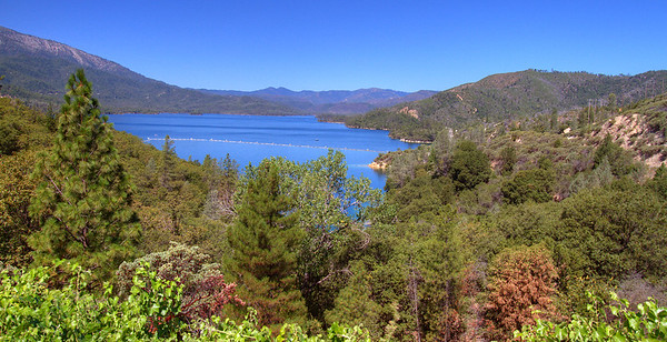 Whiskeytown Lake from visitor center 2